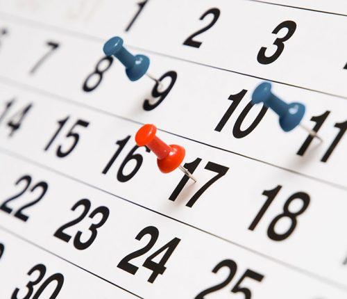 kalender leefstijlcoach academy